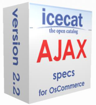 ICECAT AJAX Specs for osCommerce